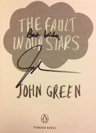 John Green book signing