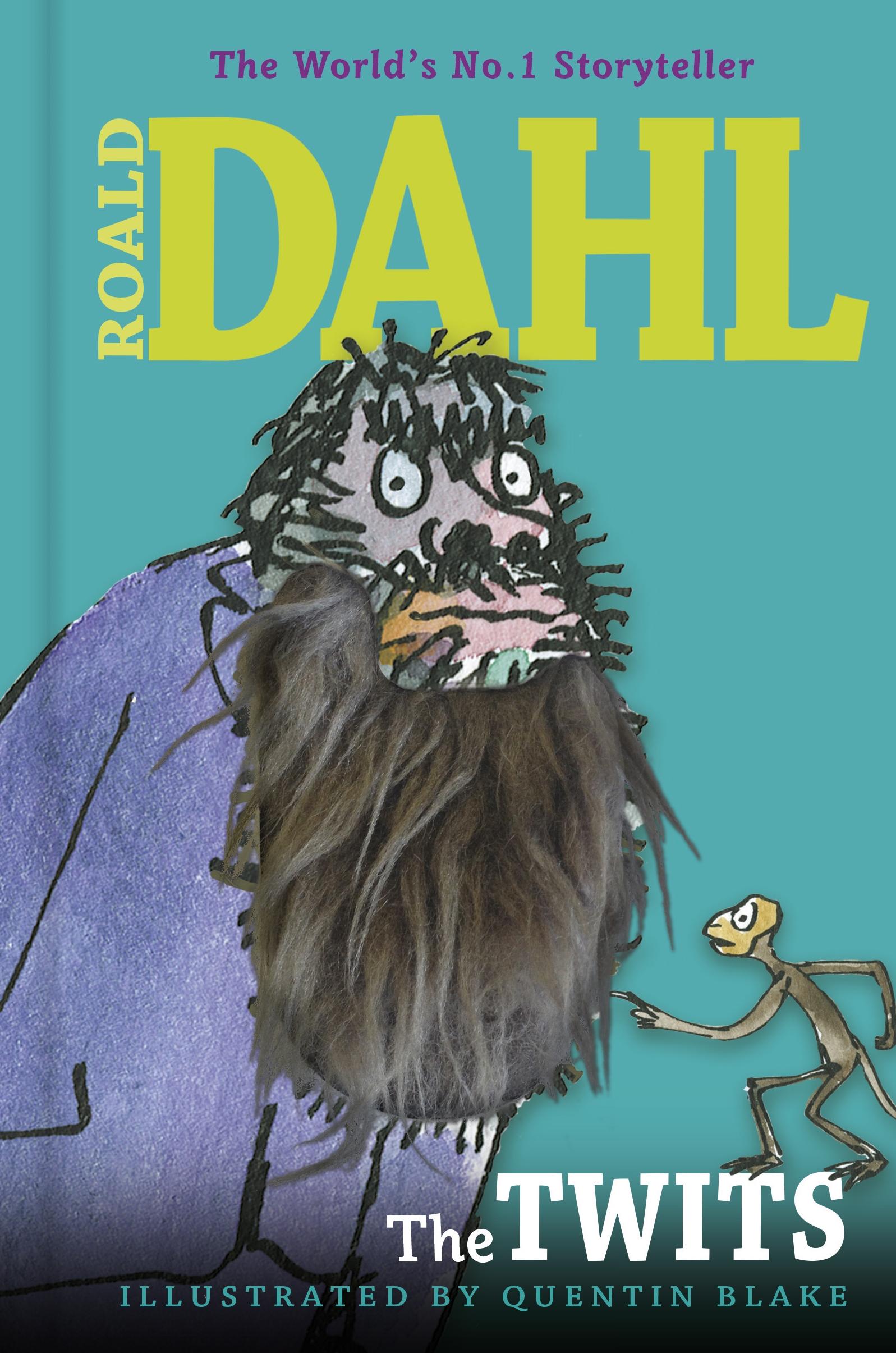Roald Dahl Father Name Hairy Beard Edition