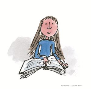 Matilda reading