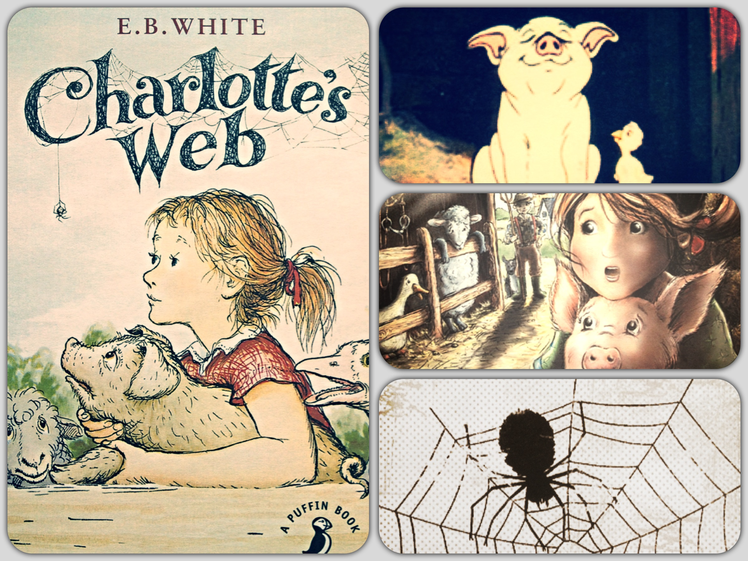 Printable Charlotte S Web Book Cover : A cover story puffin book penguin
