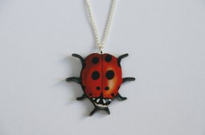 LADYBIRD LIKES NECKLACE