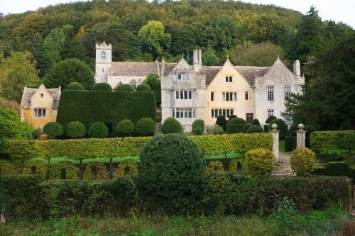 Owlpen Manor, Gloucestershire, UK. Autumn