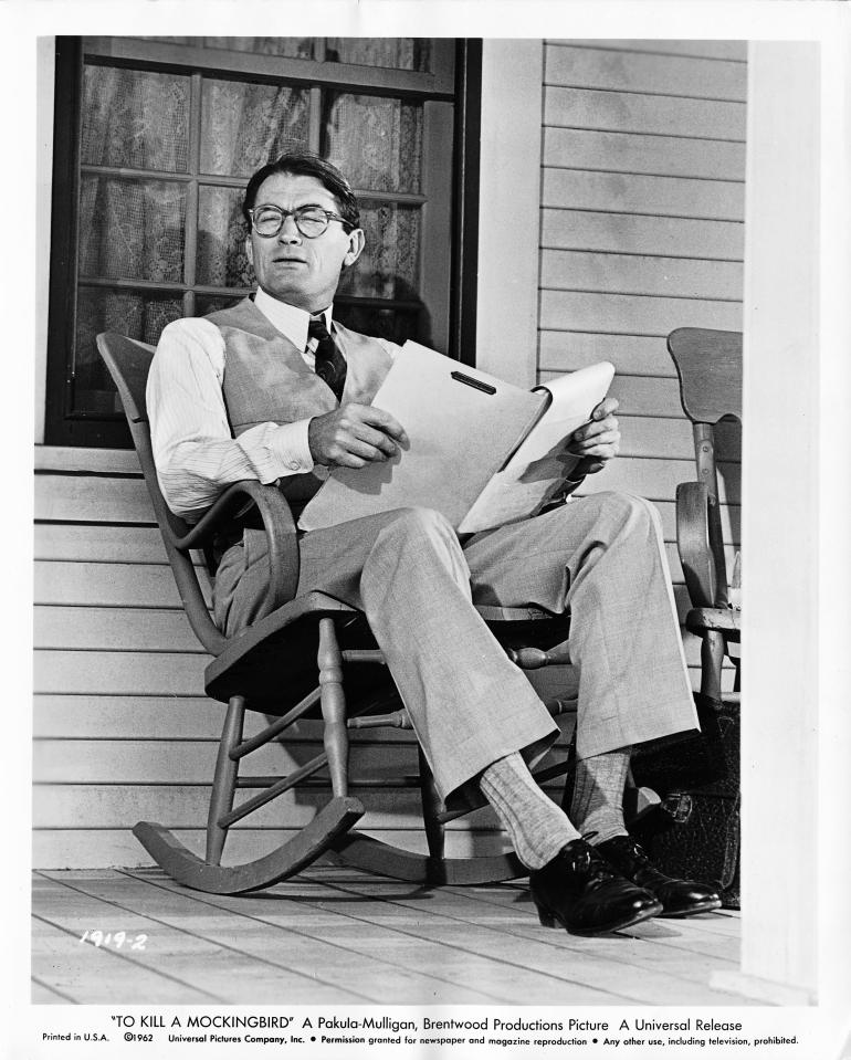 Atticus Finch- To Kill a Mockingbird (1962)