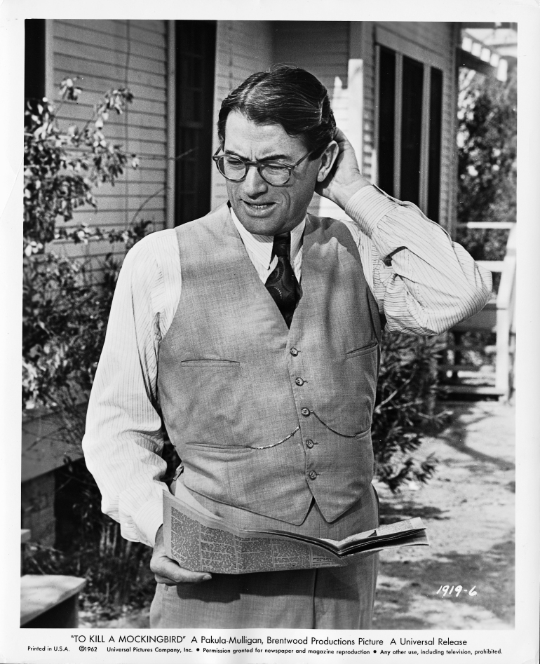 Atticus Finch- To Kill a Mockingbird (1962)