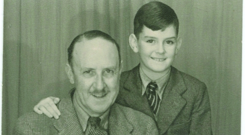 John Cleese and his Father
