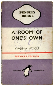 A Room of One's Own- Virginia Woolf.