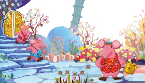 The Brilliant Suprise no words spread from Clangers