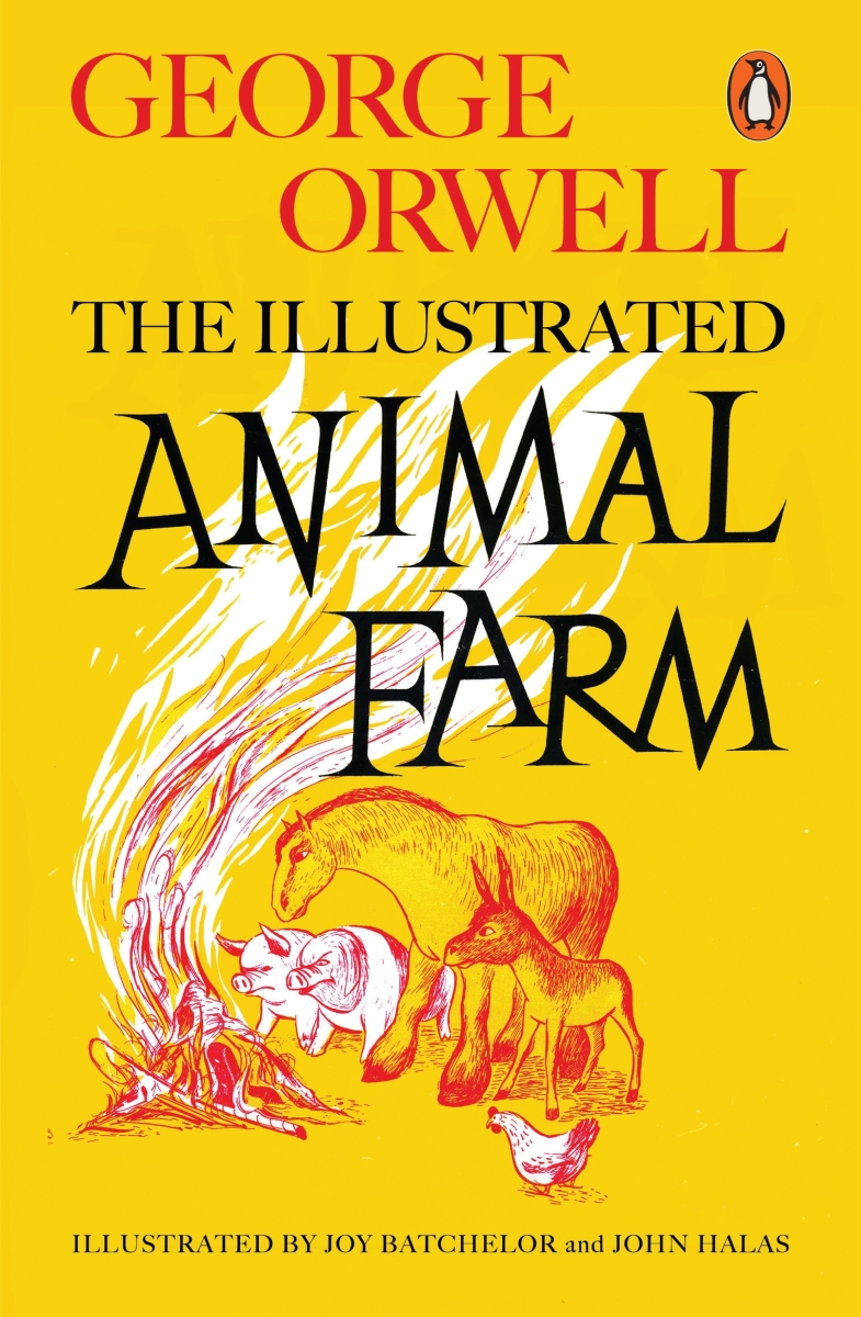 the revolution of the animals in the novel animal farm by george orwell Animal farm, anti-utopian satire by george orwell, published in 1945  the  animals' intelligent and power-loving leaders, the pigs, subvert the revolution.